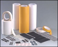 Cloth, paper and tissue tapes