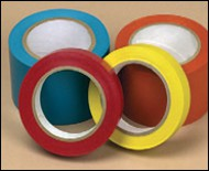 Single Coated PVC, UPVC and Polypropylene Film Tapes